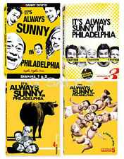 It's Always Sunny in Philadelphia ~ Complete Season 1-5 (1 2 3 4 & 5) ~ NEW DVD