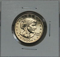 Susan B Anthony 1980 D Dollar Coin Uncirculated BU Denver SBA