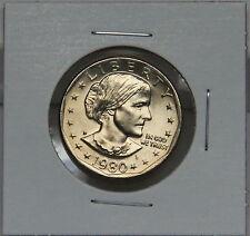 Susan B Anthony 1980 D Dollar Coin Uncirculated BU Denver SBA