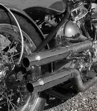 MARMITTA TERMINALE MOTO HARLEY CUSTOM CHOPPER CAFE RACER BOBBER SCRAMBLER BMW
