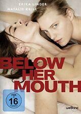 DVD *  BELOW HER MOUTH - ERIKA LINDER - NATALIE KRILL # NEU OVP §