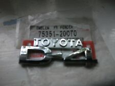 New Genuine Toyota D4 Emblem Front Wing  75351-20070