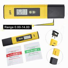 PH Mètre LCD Numérique Qualité de l'eau Testeur Température Moniteur Portable