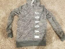 Youth Boys Jordan Full Zip Hooded Sweatshirt - Size YL