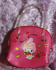 1/3 1/4 scale BJD Dollfie My Melody Purse Pink Bag Sack Doll Satchel Tote NEW