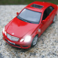 """Model Cars Mercedes-Benz E63 5"""" Sound&light Alloy Diecast Collection&gifts Toys"""