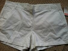 Joe Fresh Women White Shorts size 14, White Color, 100% Cotton, NWT