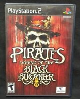 Pirates Legend of the Bla PS2 Playstation 2 COMPLETE Game 1 Owner Near Mint Disc
