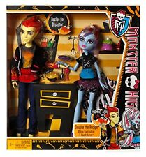 Monster High HOME ICK Abbey Bominable and Heath Burns - 2 dolls BBC82 NEW NRFB!!