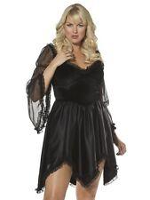 Bijou Boutique Black Knee Length Dress XXL UK 20-22  black dress - Fancy Dress