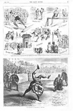 Devon Wrestling  -  College Sports at Saratoga  -  The Yearly Meeting  -  1876
