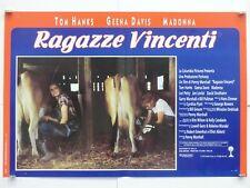 RAGAZZE VINCENTI commedia sport Marshall HANKS DAVIS MADONNA fotobusta 1992
