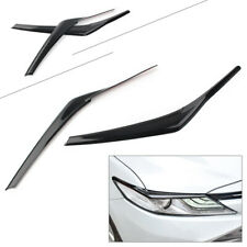 For 2018-2020 Toyota Camry SE XSE black Headlight lamp eyebrow decoration trim