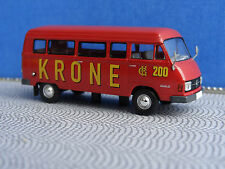 Brekina 13258 Circus Krone Mercedes Benz Werbebus Kleinbus 1:87