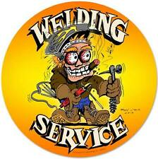 Hot Rod Body Shop Welding Metal Sign Man Cave Garage Club Barn Mechanic MLK026