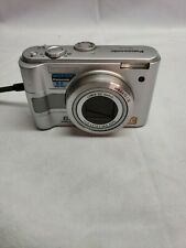 Panasonic LUMIX DMC-LZ5 6.0 MP 6.0x Optical Zoom Silver Tested Works Pre-owned