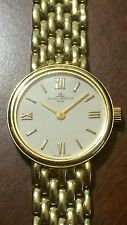 Baume Mercier 14K Gold Women's Ladies Swiss Watch Bracelet Wristwatch Geneve