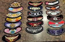 19-Harley Davidson Rocker Patches