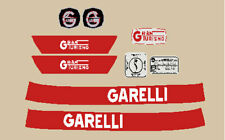 GARELLI 50 GRAN TURISMO 1972 SERIE ADESIVI STICKERS