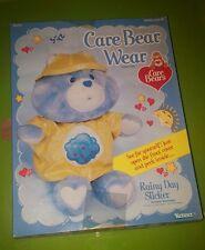 Vintage Care Bear Bears Wear Rainy Day slicker in box
