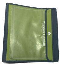Vintage Mead Trapper Keeper School Binder Folder Green Notebook