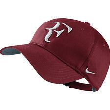 New Nike RF Roger Federer Hat Cap Team Red / Tennis  Dri Fit 371202-678