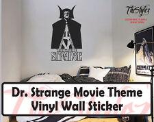 Dr. Strange Movie Theme Silhouette Oversize Vinyl Wall Sticker