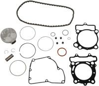 Vertex Top End Piston Gasket Kit HC 76.96mm 13.8:1 B Suzuki RMZ250 2010-2012