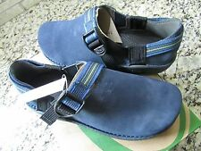 New Chaco Pedshed Ecotread Suede Shoes Girls 5 Womens 6.5-7 Navy Free Ship