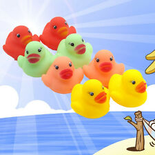 Baby Kid Plastic Ducks Bathing Developmental Toys Water Floating Squeaky NEW