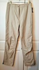 New L.L.Bean Outdoor Lined Quilted Diamond Pants Size 12 Sportswear Snow Hiking