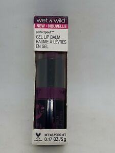 Wet N Wild Perfect Pout Gel Lipstick Lip Stick Balm Pout & Play 956A Rule Plum