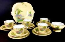 Tea Cup & Saucer British Aynsley Porcelain & China Tableware
