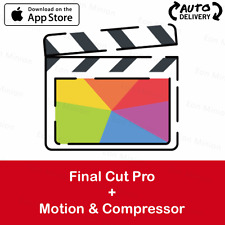 ⭐️Apple ID⭐️ Final Cut Pro + Motion + Compressor ⭐️Auto-Delivery⭐️