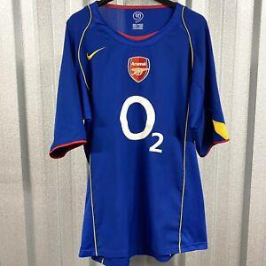 Arsenal FC Nike Away 2004/05 Football Shirt No.9 REYES Size Large - FREE POST