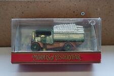 MATCHBOX MODELS OF YESTERYEAR Y27-1 1922 FODEN STEAM WAGON JOSEPH RANK T15