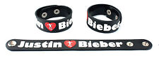 JUSTIN BIEBER  Rubber Bracelet Wristband Free Shipping Saturday Night Live aa47