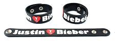 JUSTIN BIEBER  Rubber Bracelet Wristband Free Shipping Saturday Night Live aa47