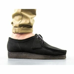 clarks originals Wallabee BLACK SUEDE Crepe Sole US MENS SIZES 26155519