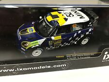 MINI JOHN COOPER WORKS SANDELL SWEDEN 2012 IXO RALLY 1:43 DIECAST-CAR- RAM493