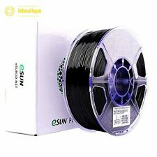 eSUN 3D 1.75mm PETG Black Filament 1kg 2.2lb PETG 3D Printer Filament - Black