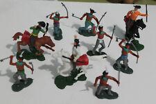 wild west h king wenco nardi genre Timpo Toys far west lot indien et cowboy