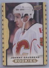 JOHNNY GAUDREAU 2014-15 UPPER DECK MASTERPIECES RC GOLD /50 FLAMES