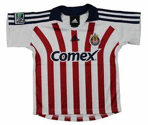 Adidas Club Deportivo Chivas USA MLS Soccer Toddlers Away Jersey Top