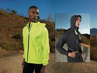 TR070 TriDri® Mens Ultralight layer softshell - Running Workout Wicking Hi Viz*