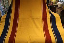 "Pendleton Wool Blanket 90"" x 80"" Yellowstone National Park good"