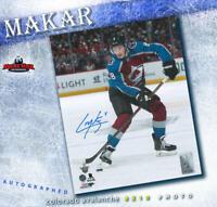 CALE MAKAR Colorado Avalanche Signed 8x10 Photo - 70447