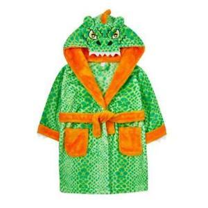 Novelty Dinosaur Dressing/Bath Gown