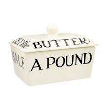 Emma Bridgewater Black Toast Small Butter Dish