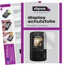 6x Philips sa4vbe04kn12 GoGear Vibe protectoras TRANSPARENTES para protector de pantalla Lámina